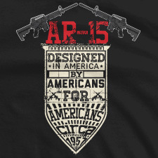 AR-15 BY AMERICANS FOR AMERICANS