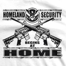 HOMELAND SECURITY BEGINS AT HOME